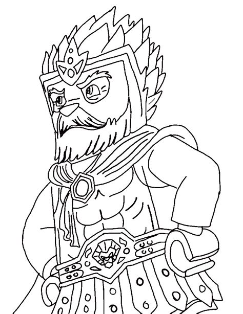 legends  chima coloring pages