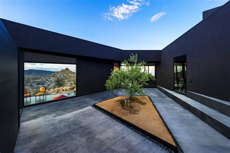 Contemporary Modern Homes by Gallery Of Black Desert House Oller Amp Pejic Architecture