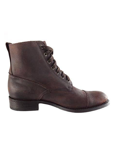 mens vintage boots sendra mens vintage brown ankle boots