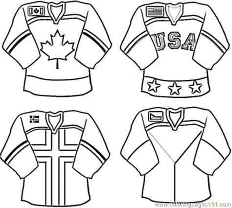 coloring pages of hockey jerseys delco phantoms kids corner