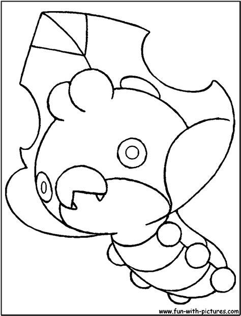 pokemon coloring pages sewaddle sewaddle coloring page