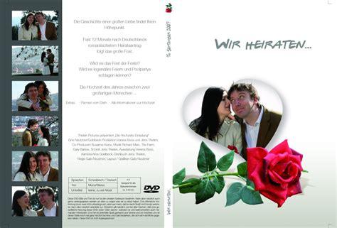 Hochzeitseinladung Cover by Dvd Cover Unserer Hochzeits Einladung