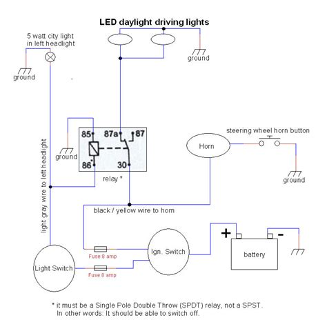 how to wire driving lights to a switch wiring diagrams