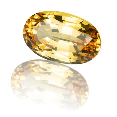 imperial topaz oval 4 29ct king gems