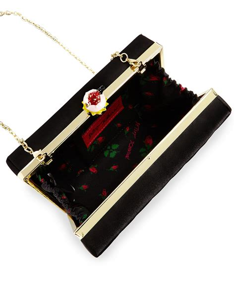 Betsey Johnson Lock It Up Purse by Betsey Johnson Cupcake Lock Box Evening Clutch Bag In