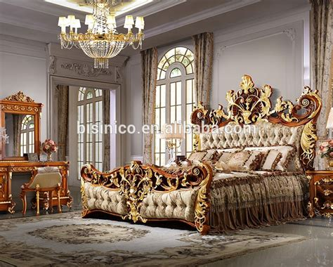 Beedreams Royal Dreams King Bed bisini luxury palace king size bed royal golden king size