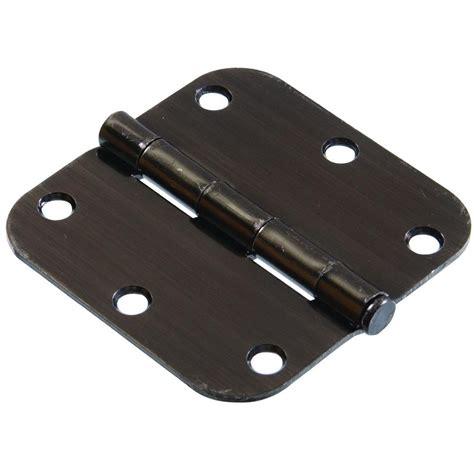 everbilt 3 1 2 in oil rubbed bronze decorative square everbilt 3 1 2 in oil rubbed bronze 5 8 in radius door
