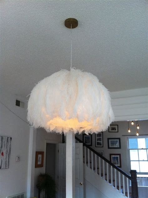 Ostrich Feather Chandelier 85 Best Images About Diy Lightning On L Bases Ostrich Feathers And Candle Chandelier