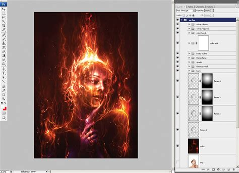 tutorial photoshop it photoshop tutorial paint with fire digital arts