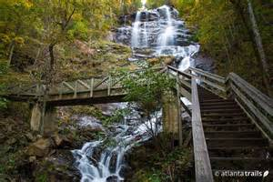 Hiking Trails In Amicalola Falls Trail Hiking S Tallest Waterfall