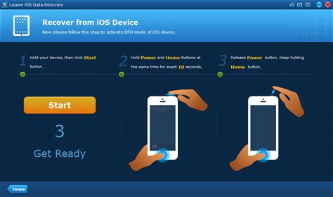 enter dfu mode  recover deleted files  iphone leawo tutorial center