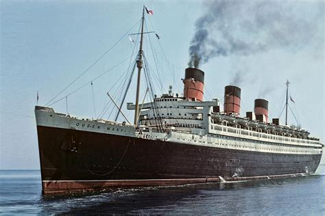 ship queen mary 1 rms queen mary classic ocean liners pinterest queen
