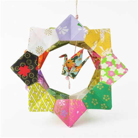 paper origami ornaments origami ornament crane wheel lavender home