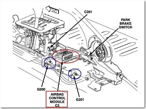 airbag deployment 1998 chevrolet suburban 1500 transmission control ford airbag module location ford free engine image for user manual download