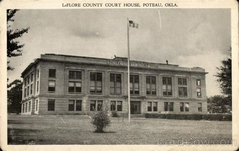 Leflore County Oklahoma Court Records Leflore County Court House Poteau Ok