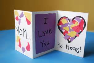 preschool crafts for s day quot i you to pieces quot collage card craft