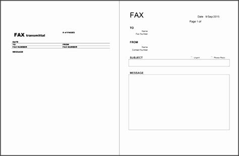 fax cover letter template sampletemplatess