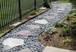 Garden Stones And Gravel Building Garden Paths For Beginners