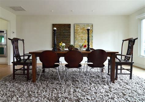 rug size for dining room table preferrred rug size for dining room table lindsay decor