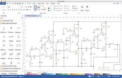 circuit diagram maker mac wiring diagram with description