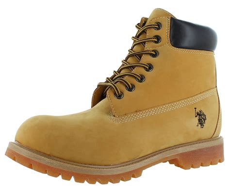 mens boots polo u s polo assn tower 6 quot s boots faux leather ebay