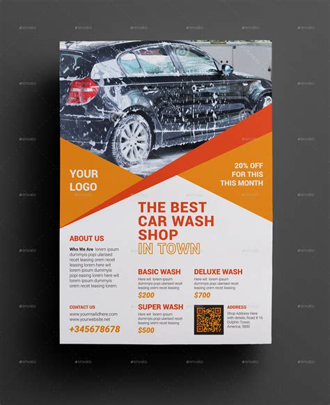 Car Wash Flyer Ideas