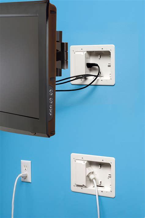 gang recessed tv boxa  power   voltage