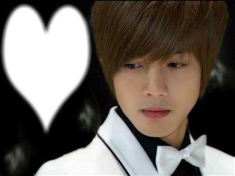 imagenes de coreanos llorando montaje fotografico kim hyun joong love pixiz