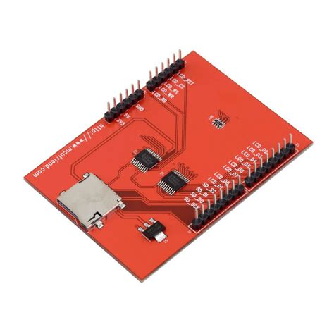 24 Inch Tft Lcd Touch Screen Module Shield Arduino Baru buy lcd module 2 4 inch 2 4 quot tft lcd shield socket touch