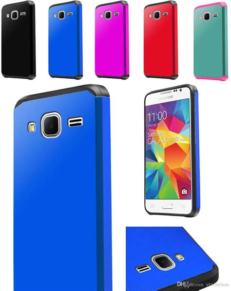 Rugged Armor Samsung Galaxy E5 E7 Soft Casing Back Cove T3009 Cool Newest Cheap Hybrid Defender Covers Rugged Slim Armor