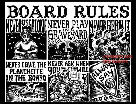printable ouija board instructions ouija board rules shirt xl