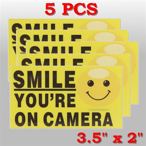 Smile You Re On Sticker