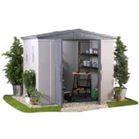 Keter Bellevue 8x6 Storage Shed by Keter Apex Shed Box 8x6 Garden Shed Review Compare