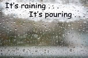 Is It Raining In Scattered Thoughts Lola S Curmudgeonly Musings About