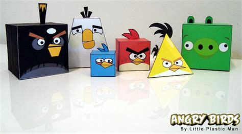 Angry Birds Origami - make your own angry birds origami style mactrast