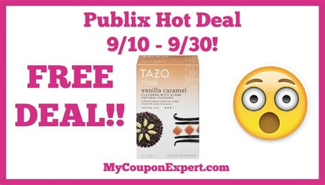 Publix E Gift Card - publix hot deal alert free tazo products until 9 30 183