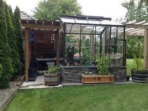 Sofas Vancouver Bc The Legacy 8x8 Greenhouse With Potting Shed Contemporary
