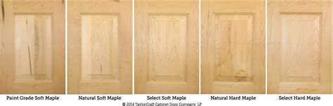 maple wood kitchen cabinet doors differences between hard maple and soft maple kitchen