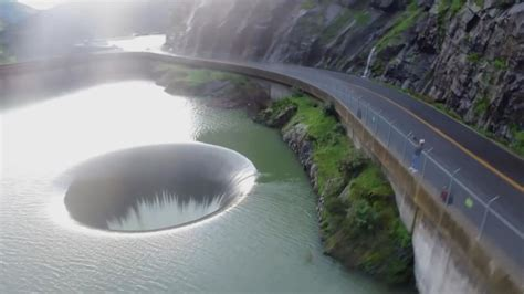 lake berryessa spillway california s punishing rain creates rare spectacle cbs news