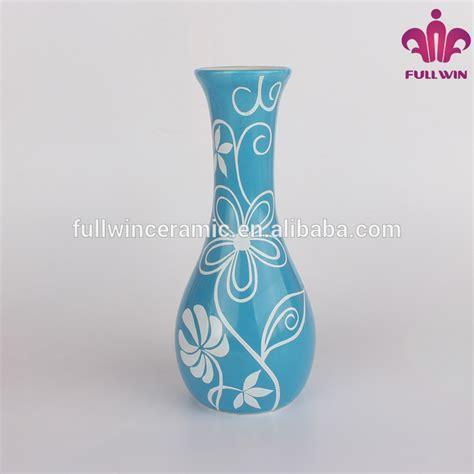 Vas Bunga Keramik Model Botol Ulir gambar vas bunga keramik colorful keramik custom made vas