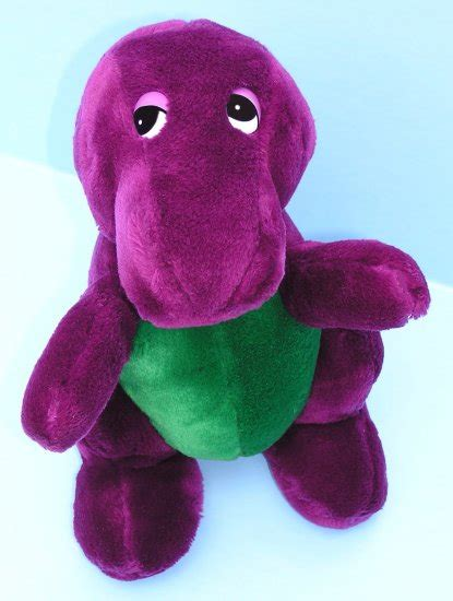 barney and the backyard gang doll rare barney the backyard gang first ever plush doll 1990