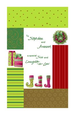 printable christmas cards son love for son and daughter in law greeting card christmas