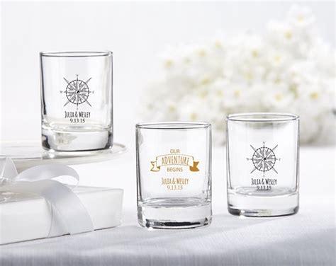 Custom Color Sparkly Glass Votive Personalized Glass Votive Holders Travel Adventure
