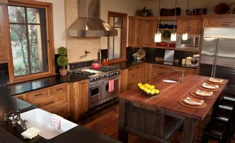 rustic butcher block countertops butcher block countertops great option for any kitchen
