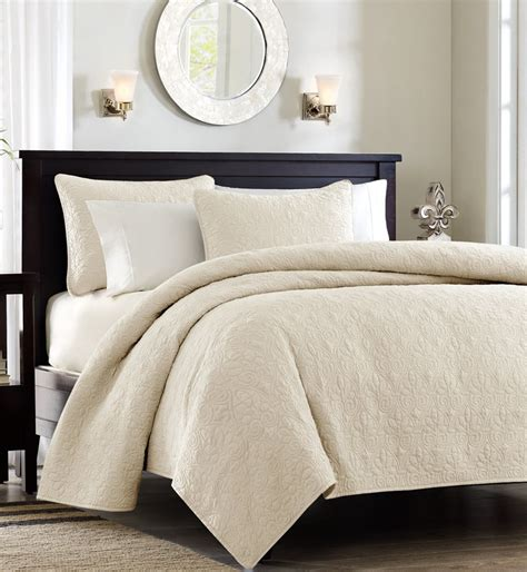 bedroom linen sets beige and white bedding products for creating warm and elegant nuance homesfeed