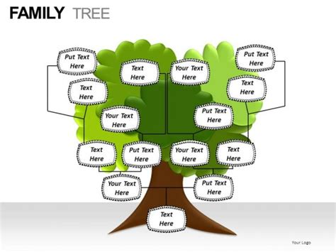 Family Tree Powerpoint Presentation Slides Family Tree Powerpoint Presentation
