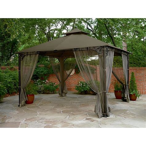 Garden Oasis Pergola With Canopy by Garden Oasis Gazebo Laurensthoughts