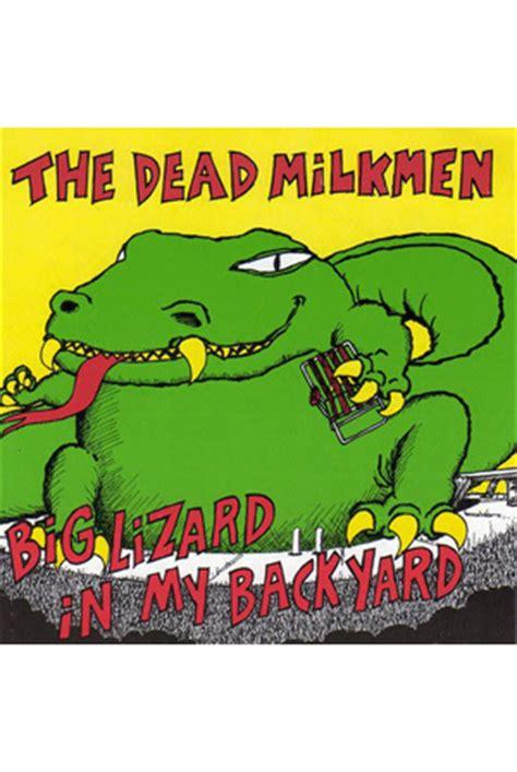 big lizard in my backyard lyrics dead milkmen big lizard in my backyard 28 images quot
