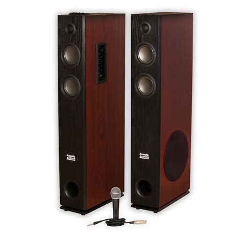 Speaker Carpet Walmart Acoustic Audio Tsi600 Bluetooth Powered Floor Tower