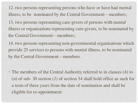 Section 42 Mental Health Act by Mental Health Act